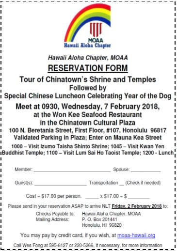 February Th Chinatown Tour And Luncheon